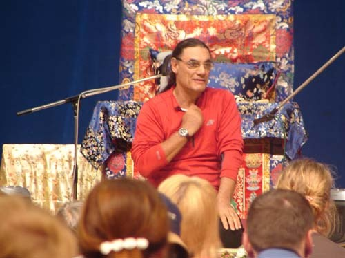Фабио обучает Янтра-йоге