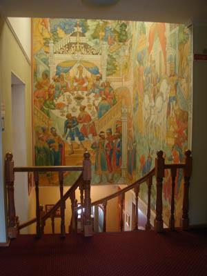 Внутренний интерьер - роспись, Палех