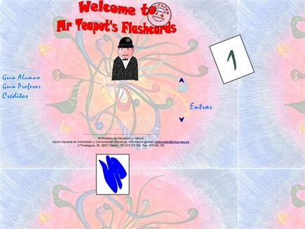 Mr Teapots Flashcards