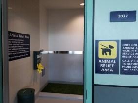 Service Animal Relief Area
