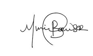 Mayor Bowser Signature