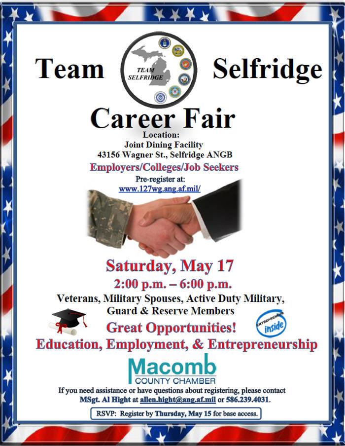 Team Selfridge Career Fair