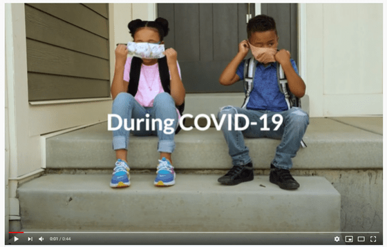 Helping kids get comfortable with masks