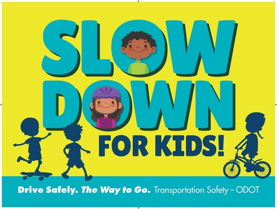 Slow down for kids