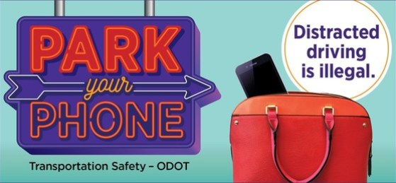 Park your phone distracted safety
