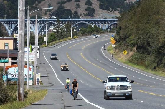 Bike car coast safety