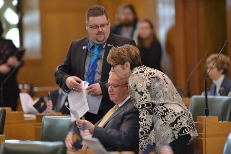 Reps. David Brock Smith, Caddy McKeown, and David Gomberg Discuss Legislation