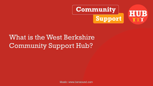 A screengrab from the Community Support Hub video