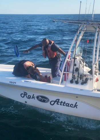 Coast Guard assists 3 near Clearwater, Florida