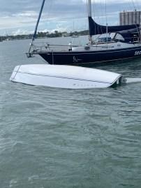 Coast Guard rescues 57-year old man after boat capsizes near Rybovich Marina