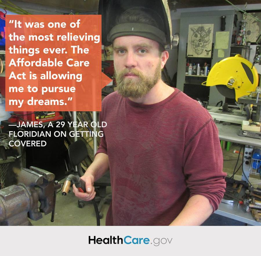 James Image: A 29 Year Old Floridian On Getting Covered