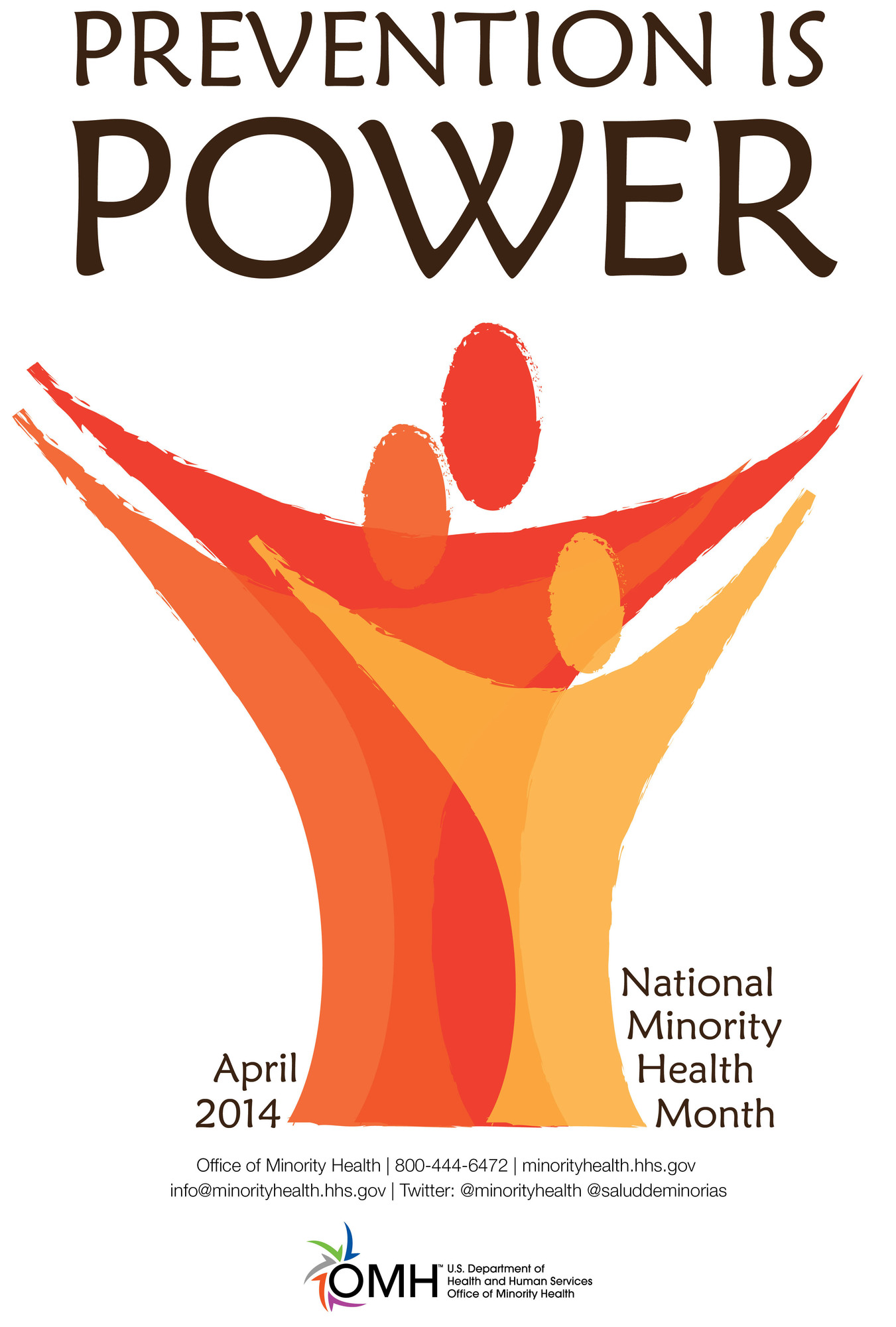 Prevention Is Power: April 2014 is National Minority Health Month