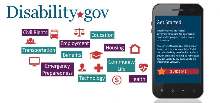 Disability.gov Guide Me