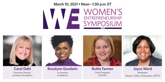 Headshots of Women's Entrepreneurship Symposium presenters