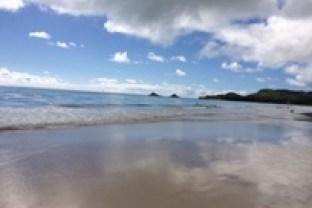 Morning at the Mokuluas, Kailua, Hawaii