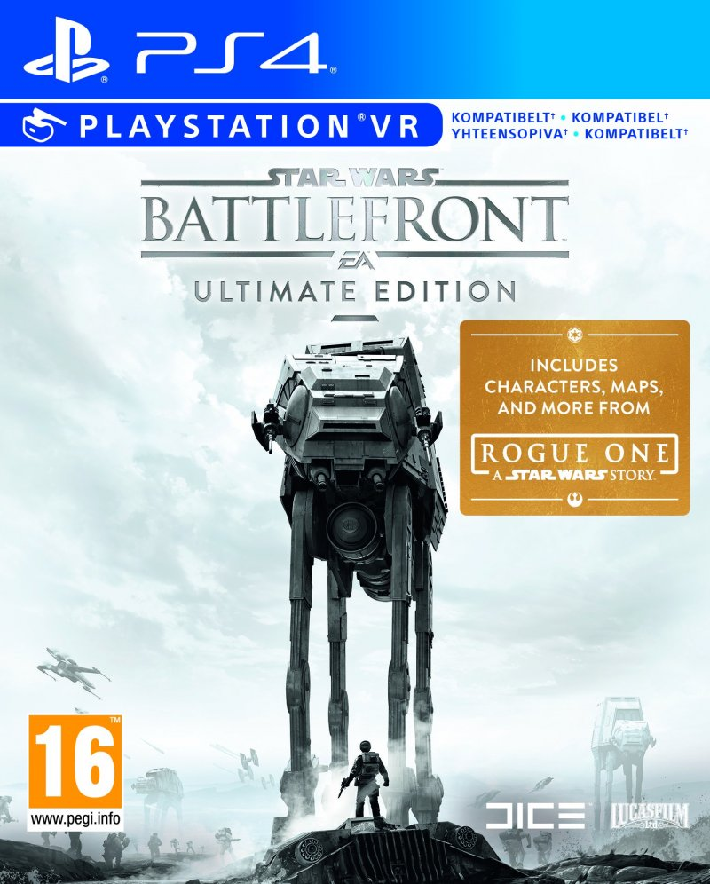 Star Wars Battlefront Ultimate Edition Ps4 Kb