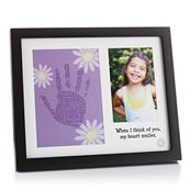 Girl Double Frame with Sentiment