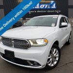 Certified Pre Owned 2019 Dodge Durango Citadel Awd 5 7l Hemi Leather Navigation Sunroof Technology Group Heated Steering Remote Start Sport Utility In Guelph Kc663699 Mark Wilson S Better Used Cars