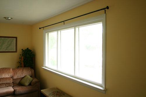 stylish yet inexpensive curtain rods