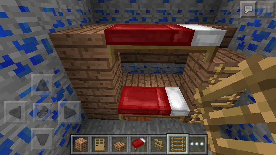 Minecraft Bunk Bed 11 Steps With Pictures Instructables