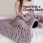 Easy Chunky Hand Knitted Blanket In One Hour 9 Steps With Pictures Instructables