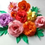 Diy Paper Flowers Folding Tricks 5 Steps With Pictures Instructables