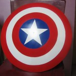 Captain America Shield From Used Satellite Dish 13 Steps With Pictures Instructables