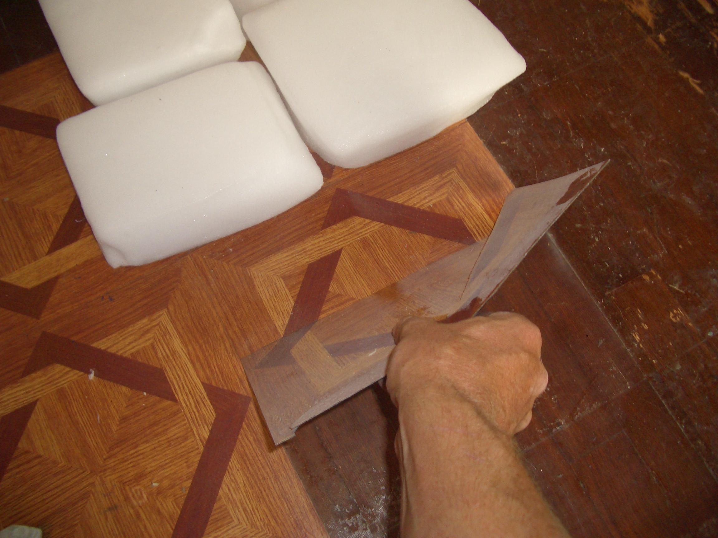 how to easily remove vinyl tiles 4
