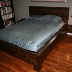 Diy Platform Bed With Floating Nightstands 9 Steps With Pictures Instructables