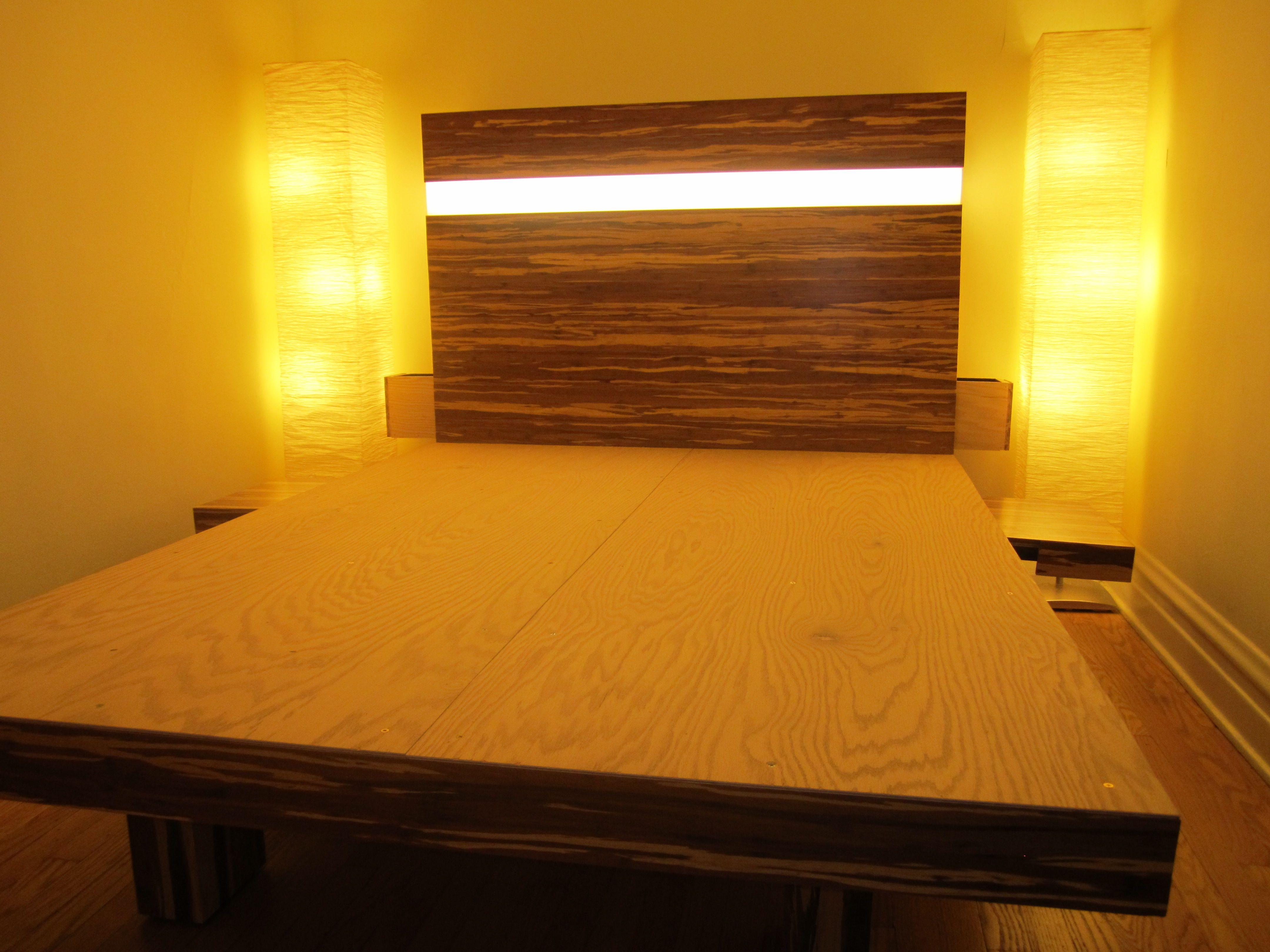 Bamboo Flooring Platform Bed 5 Steps Instructables