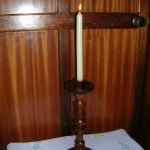 Three Part Turned Wooden Candlestick Instructables