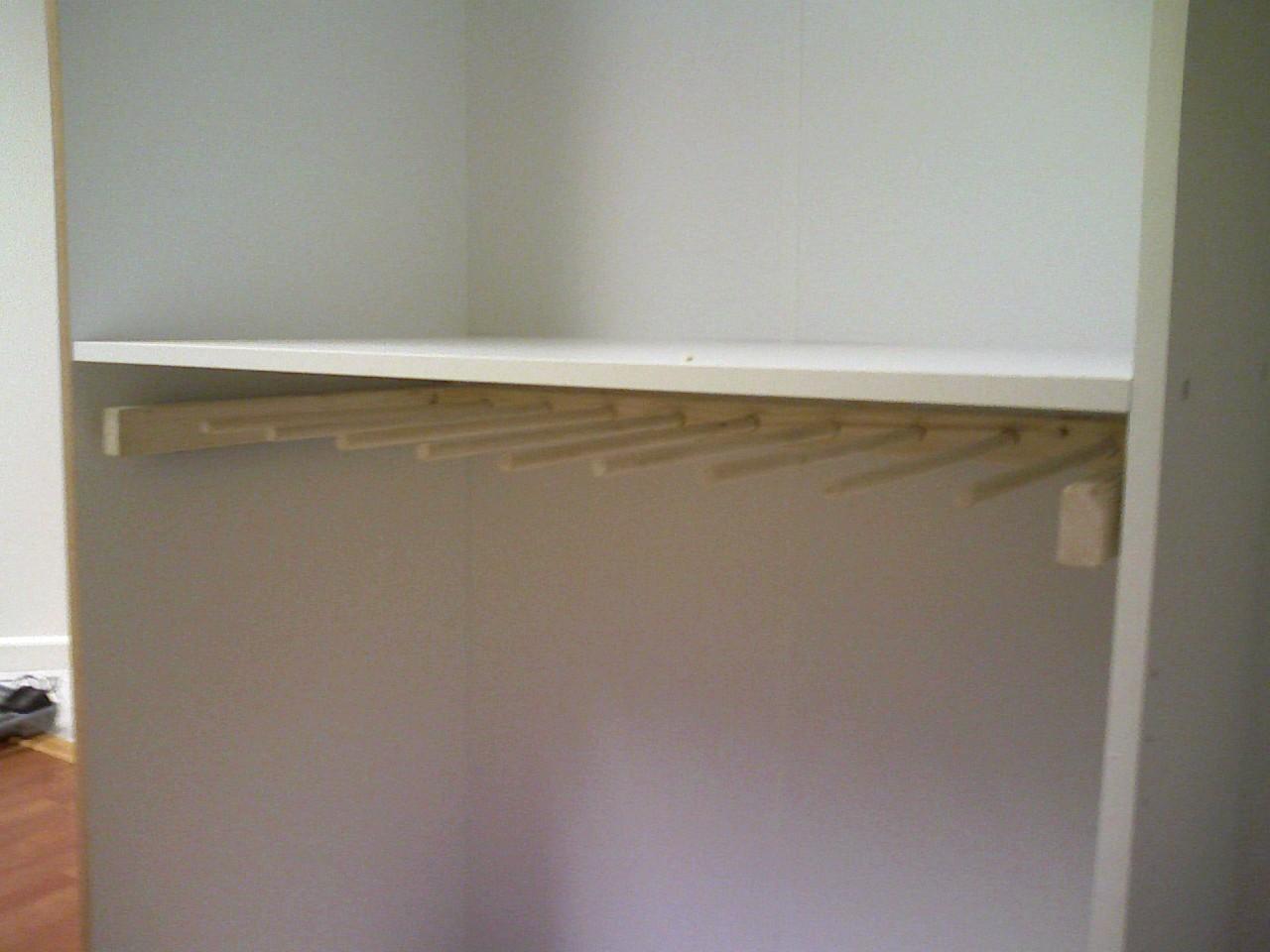 sliding pants rack 10 steps with