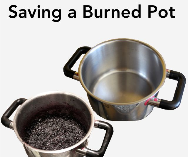 Save a Burned Pot : 12 Steps (with Pictures) - Instructables