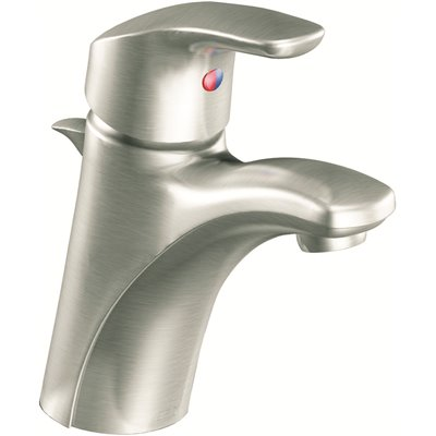 moen baystone single hole single handle