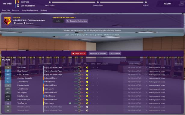 Image result for FM 19 team talks