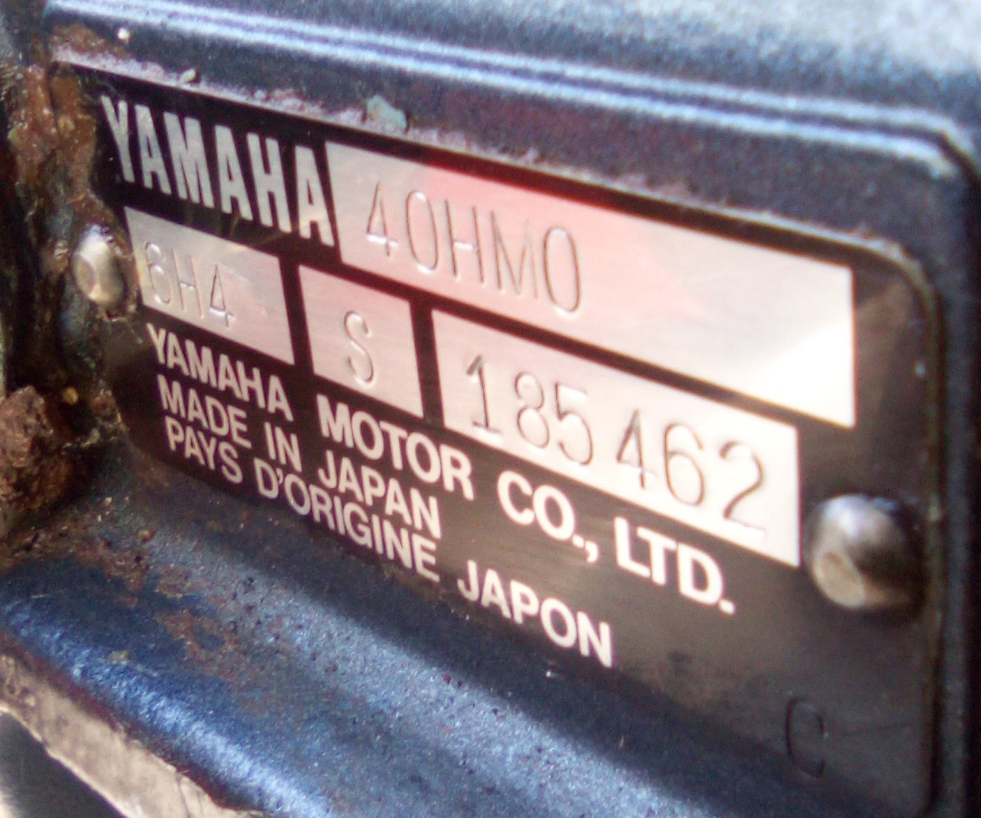 Annee Moteur Yamaha 40 Cv Autolube Hors Bord Mecanique Forum Bateau Forum Auto