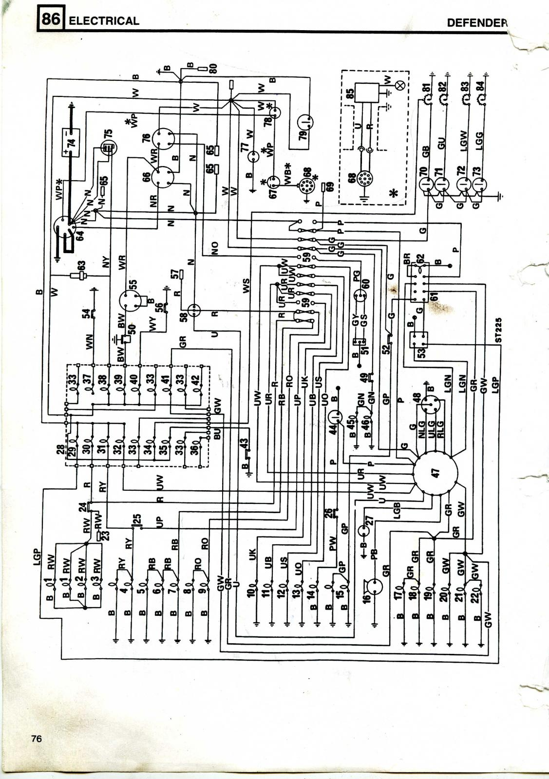 Land Rover 90 V8 3 5 Carb Wiring Diagram Needed