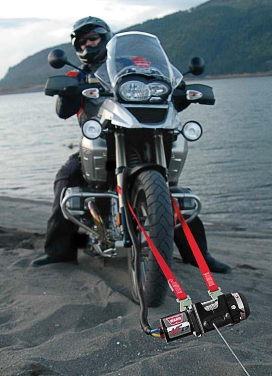 Loading Motorcycle Into Toy Hauler
