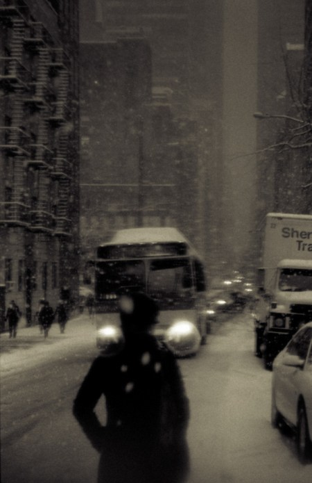 New York Snowstorm – photos by Kevin Bauman
