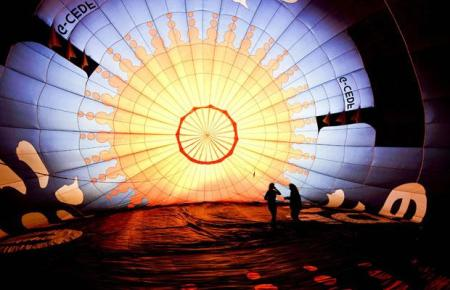 Up, up and away: photos from Bristol's hot air balloon festival