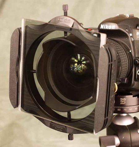 Adapting filters to fit the Nikon 14-24mm lens