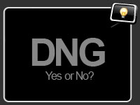 To DNG or not to DNG?