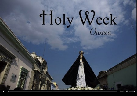 Holy Week In Oaxaca, Mexico – photos by Chico Sanchez