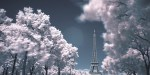 Paris, rien que l'invisible - infrared photography of Paris by Olivier Dolbeau