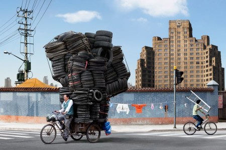 Logistics, China style – photos by Alain Delorme