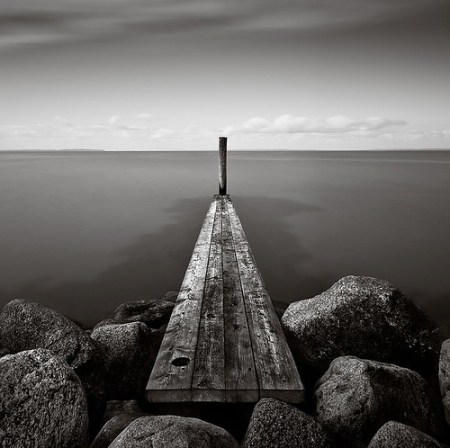 Black and white long exposure photos from Mike Malling