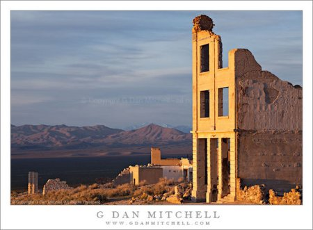 Rhyolite, Nevada – photos of an abandoned town by G Dan Mitchell
