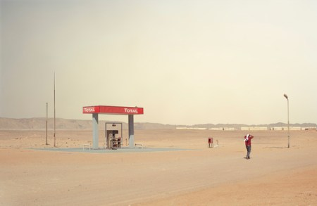 Somewhere in the Middle of Nowhere – strange desert landscape photos from Egypt by Chris Sisarich