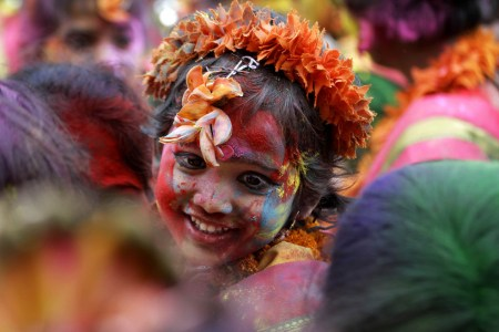 Holi, the Hindu festival of colors – photos from The Frame