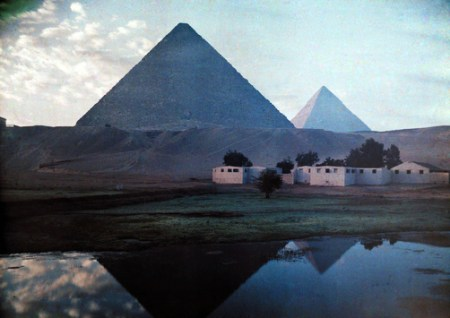 1920s Egypt in colour – historic photos from National Geographic